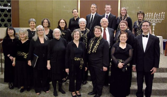 Kol Rinah Chorale will perform music based on Bible references in African-American spirituals.