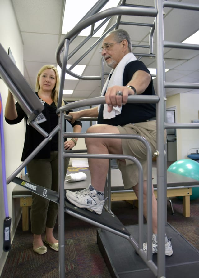 Rockland County resident Nicholas Longo, 74, was so pleased with the results of his participation in the prehabilitation program at The Valley Hospital in Ridgewood that he re-enrolled to prepare for his second knee-replacement.