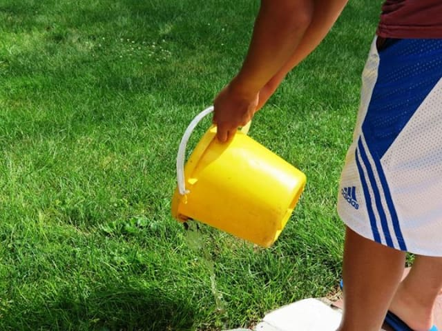 Check and remove standing water from children's toys and play houses left outside to help prevent the spread of the West Nile virus.