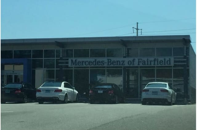 Mercedes-Benz of Fairfield reported several cars stolen from its lot this July.