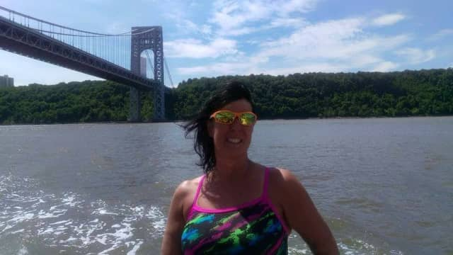 New Jersey mom Susan Kirk, 58, is one of 15 marathon swimmers to participate in the 20 Bridges Swim on Saturday.