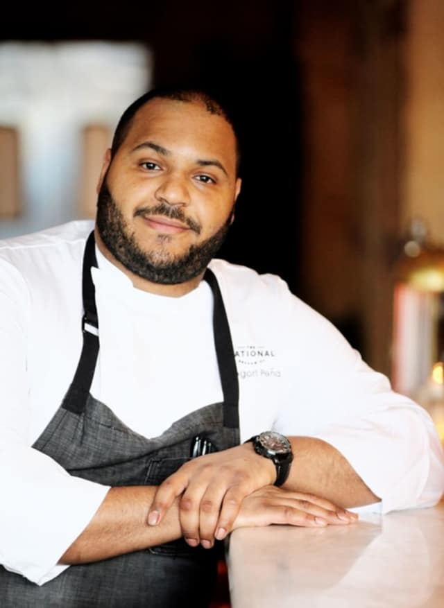 Chef Gregori Peña of The National in Greenwich.