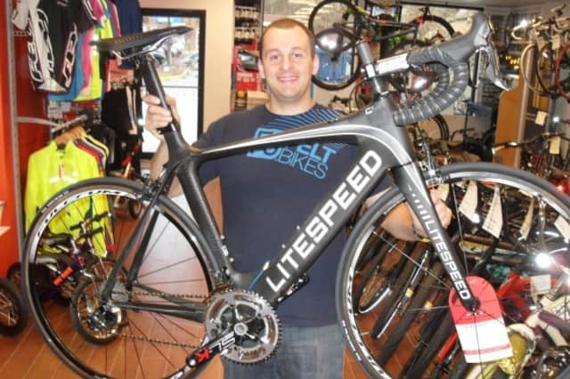 Frank DeLio is the new owner of River Bicycles in Greenwich.