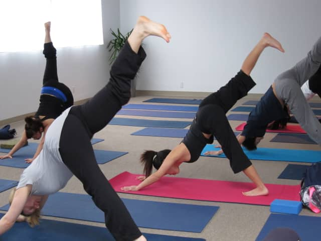 Yoga classes will be offered at the Easton Library in January and February.