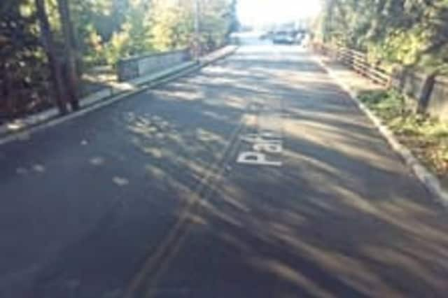 The Parkway Road Bridge, which serves as a gateway between Bronxville and Yonkers, in better days.